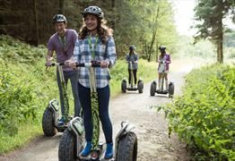 Segway experience with Go Ape