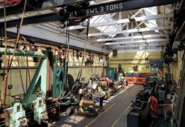 Victorian Workshop in Action Tour at Underfall Yard