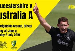 Gloucestershire v Australia A at The Brightside Ground