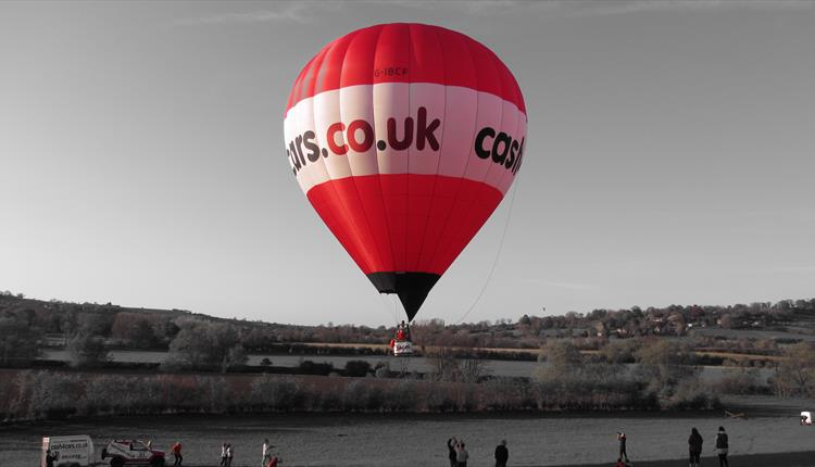 Balloon flight experience with Elite Air (UK)