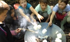 Forest Fun - Food, Shelter and Fire at Arnos Vale Cemetery