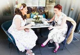 Get a vintage makeover with afternoon tea at Heartfelt Vintage