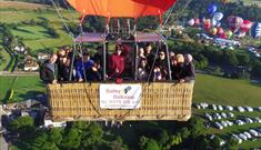 Champagne Balloon Flights at The Bristol Balloon Fiesta