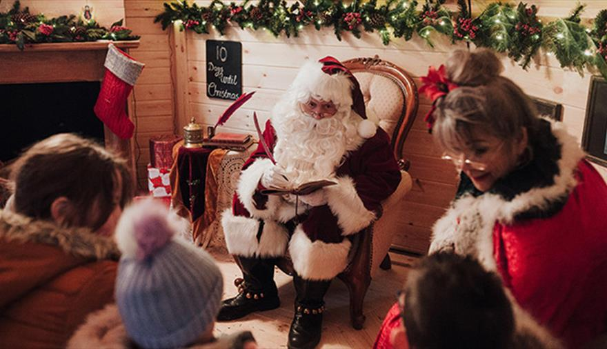 Journey to the North Pole at Avon Valley Adventure & Wildlife Park