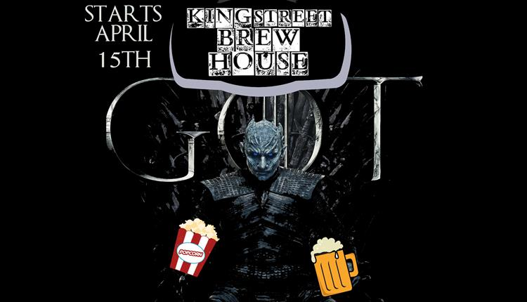 Game of Thrones screening at King Street Brew House