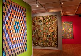 Kaffe Fassett's Quilts in America at American Museums & Gardens