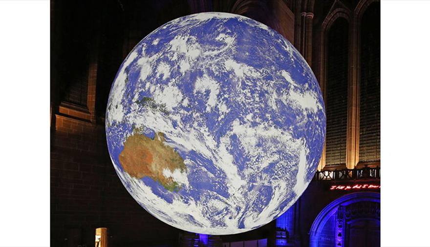 Luke Jerram's GAIA at the University of Bristol