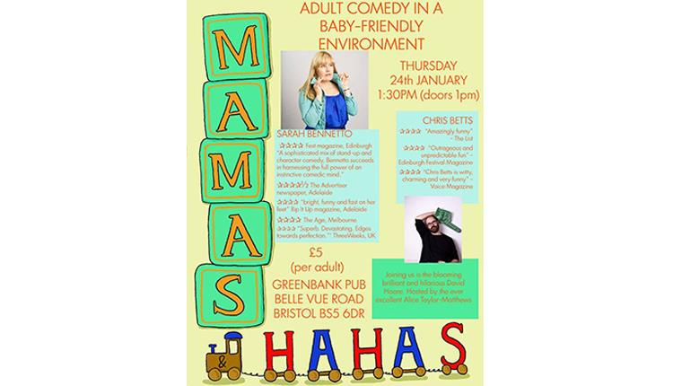 Mamas and Haha's at The Greenbank