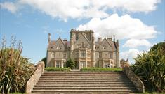 Sleep in a grade II Victorian mansion at Tortworth Court