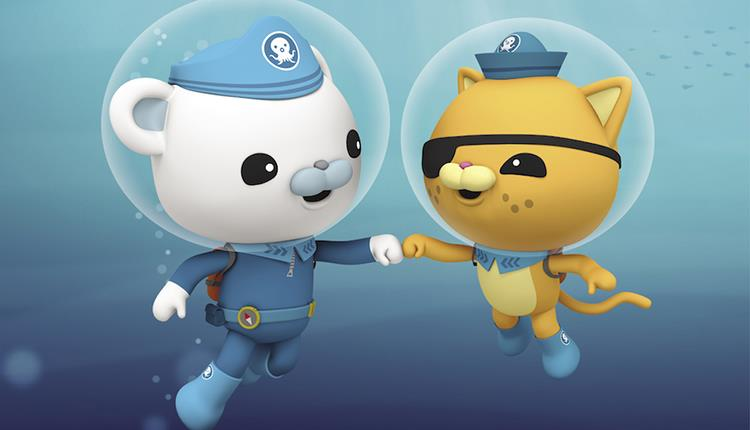 Meet The Octonauts at Bristol Aquarium. OCTONAUTS™ OCTOPOD™ Meomi Design Inc. OCTONAUTS Copyright © 2019 Vampire Squid Productions Ltd, a member of th