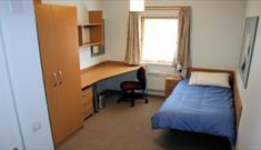 Bedroom at UWE