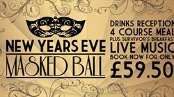 New Year's Eve Masked Ball on the Grand Pier