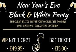 New Year's Eve Black & White Party at The Cuban