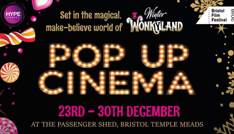 Christmas Pop Up Cinema at The Passenger Shed