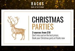 Racks Christmas Parties