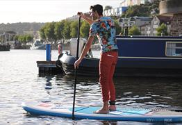 See Bristol from a Stand Up Paddleboard with SUP Bristol