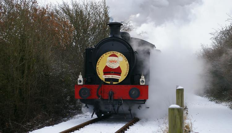Santa Specials at the Avon Valley Railway