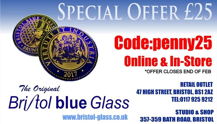 The Original Bristol Blue Glass ltd - Outlet Shop