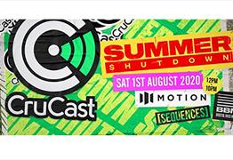 Sequences present Crucast Summer Shutdown at Motion