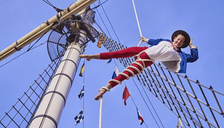 Summer Spectacular with The Invisible Circus onboard Brunel's SS Great Britain