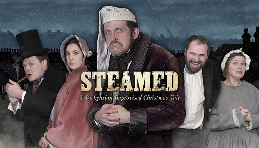 Steamed: A Dickensian Improvised Christmas Tale at Brunel's SS Great Britain