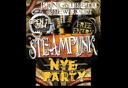NYE Steampunk Party at King Street Brew House