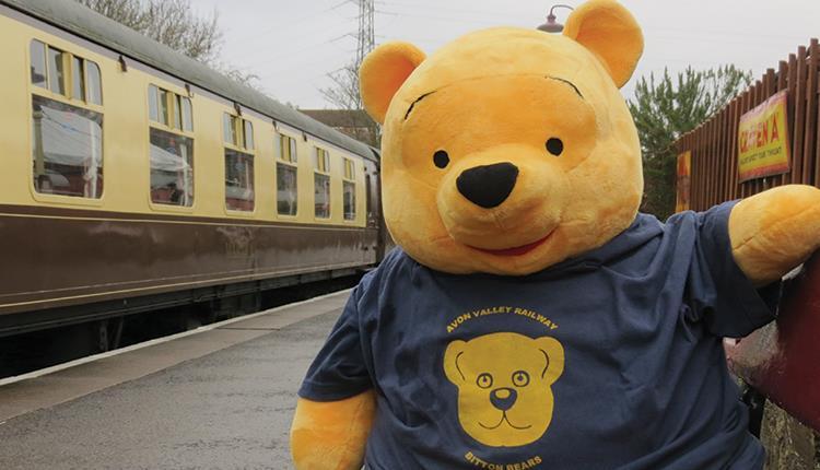 Teddy Bears Picnic at the Avon Valley Railway