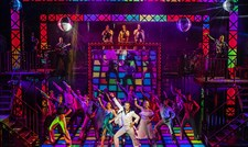 The Cast of Saturday Night Fever - UK Tour (c) Pamela Raith Photography