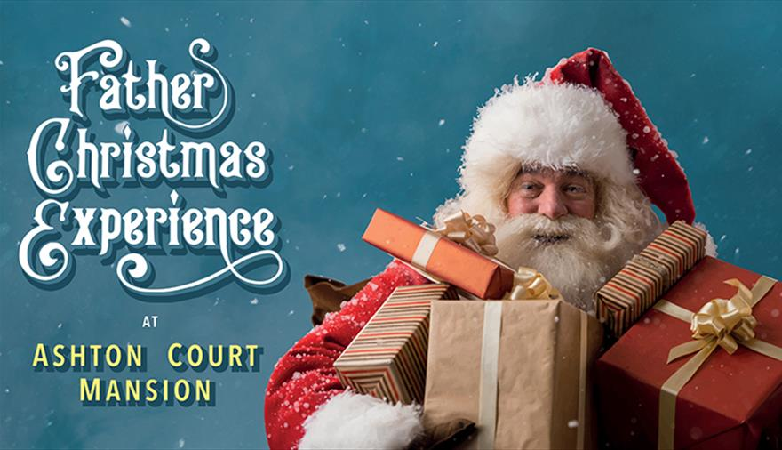 The Father Christmas Experience at Ashton Court Mansion