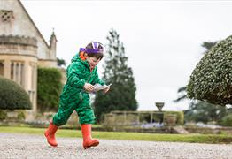 The Gibbs Family Cadbury Easter Egg Hunt at Tyntesfield
