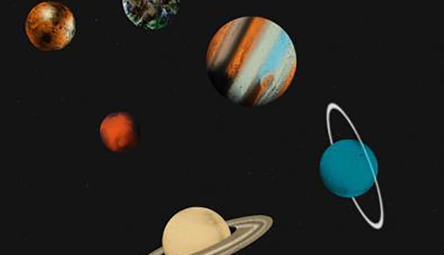 Holst's Planets 3D at We The Curious