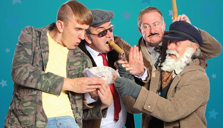 The cast dressed as the famous Only Fools and Horses characters