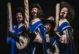 The Three Musketeers: A Comedy Adventure at Bristol Old Vic