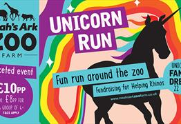 Unicorn Run at Noah's Ark Zoo Farm