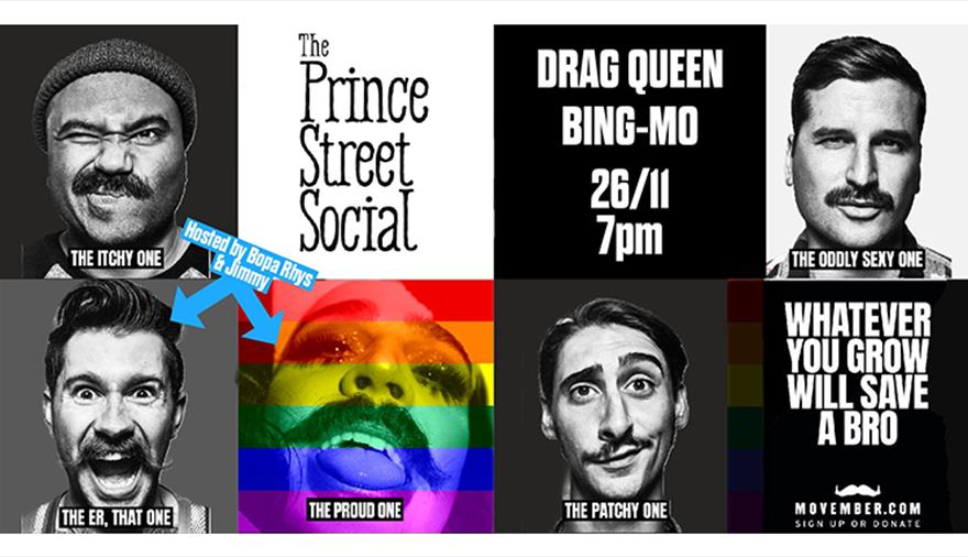 Drag Queen Bing-Mo at Prince Street Social