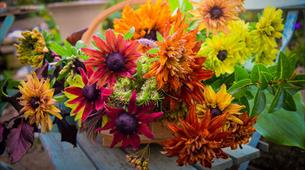 Autumn Posy Workshop at Bowood House & Gardens