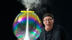 The Amazing Bubbleman at Redgrave Theatre