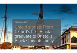 Untold stories: From Oxford's first Black graduate to Bristol's Black students today