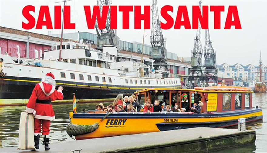 Sail with Santa with Bristol Ferry Boats