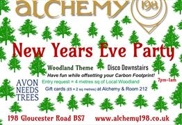 New Years Eve Fundraiser at Alchemy 198