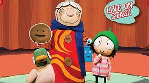 Sarah and Duck's Big Top Birthday at Redgrave Theatre