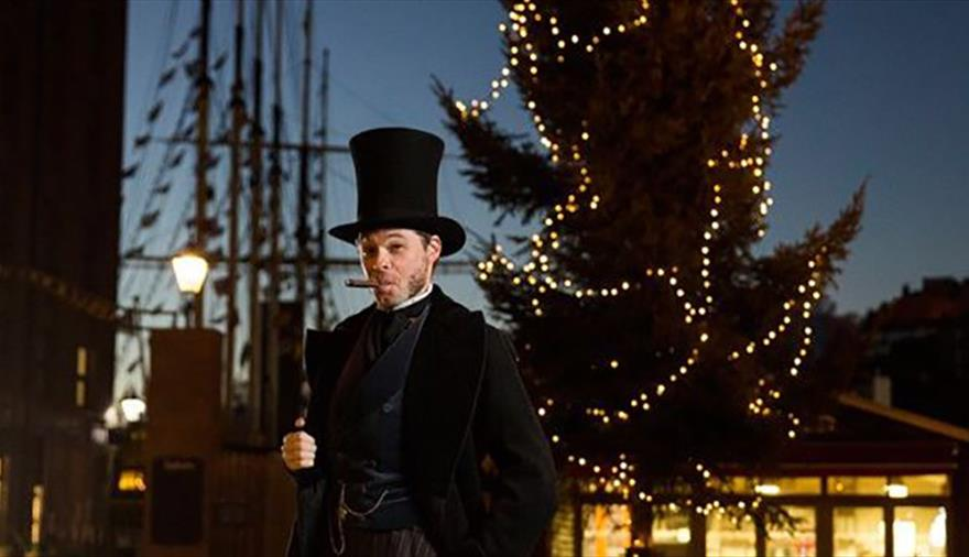Christmas captain's dinner at SS Great Britain