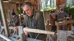 Introduction to green woodworking 2017 at Tyntesfield
