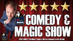The House Magicians Comedy & Magic Show at Smoke & Mirrors