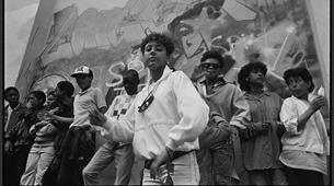 Wall Posse B Girl at St Pauls Carnival 1986 Credit Beezer
