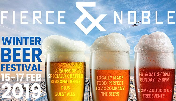 Winter Beer Festival at Fierce & Noble