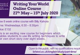 Online Course: Writing Your World with Billy Kahora