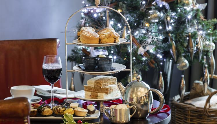 Festive Afternoon Teas at Bowood Hotel, Spa & Golf Resor