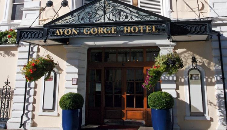 Front Entrance of Avon Gorge Hotel