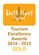 South West Tourism Excellence Awards 2014-2015 - Gold
